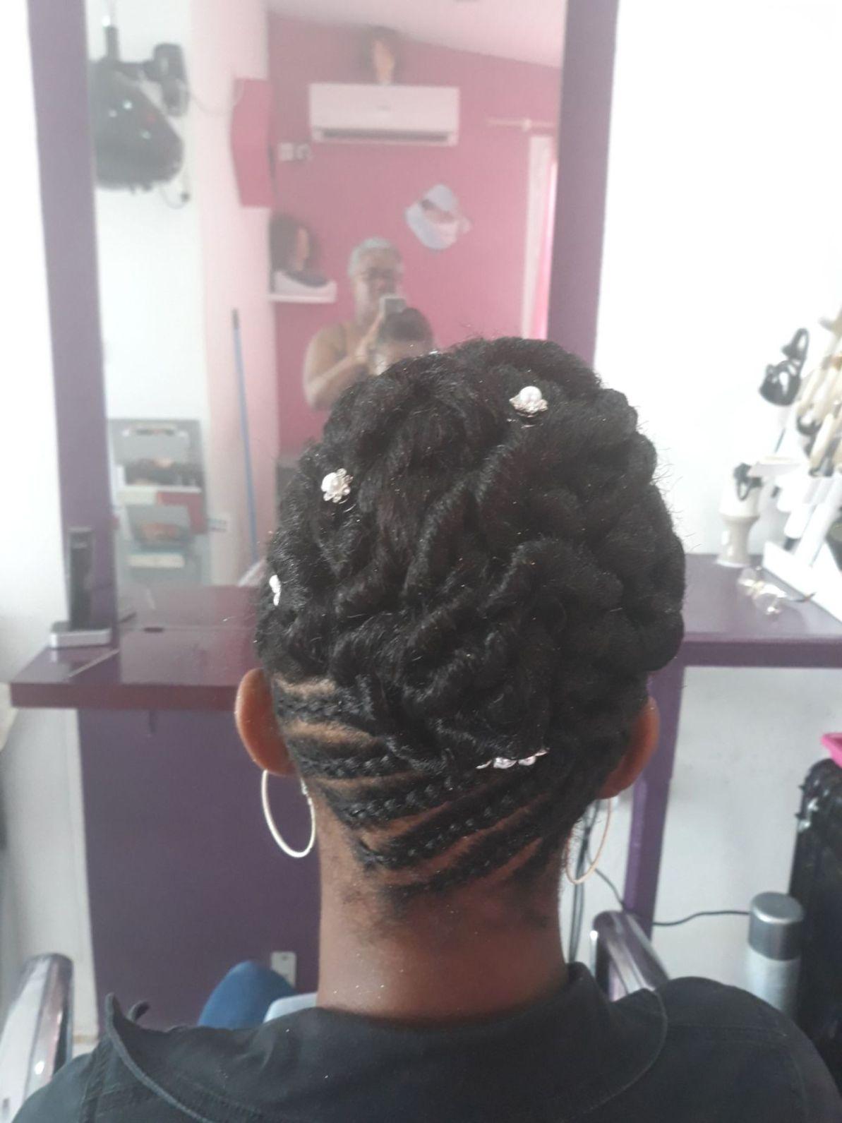 Fabie Dom Hair - Chignon tressé classe