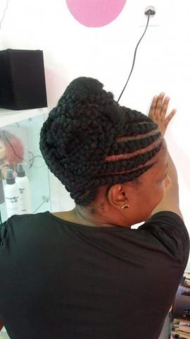 Fabie Dom Hair - Chignon tressé avec rajouts