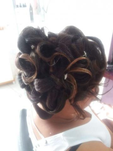 Fabie Dom Hair - Coiffure femme chignon classe