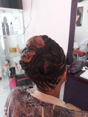 Fabie Dom Hair - Coiffure femme tresses et chignon