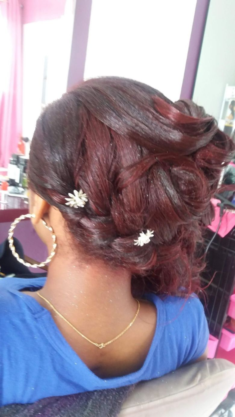 Fabie Dom Hair - Demi chou et queue de cheval