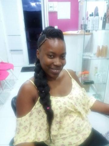 Fabie Dom Hair - Coiffure femme natte Jasmine cheveux crépus et rajouts