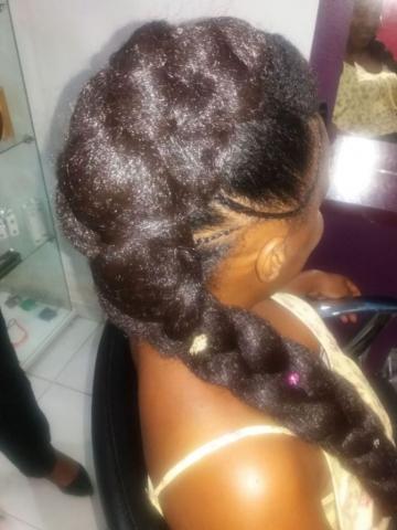 Fabie Dom Hair - Coiffure femme natte Jasmine