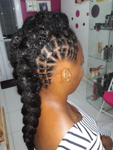 Fabie Dom Hair - Coiffure femme Jasmine avec élastiques