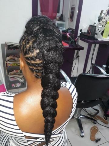 Fabie Dom Hair - Coiffure femme Jasmine avec élastiques et rajouts