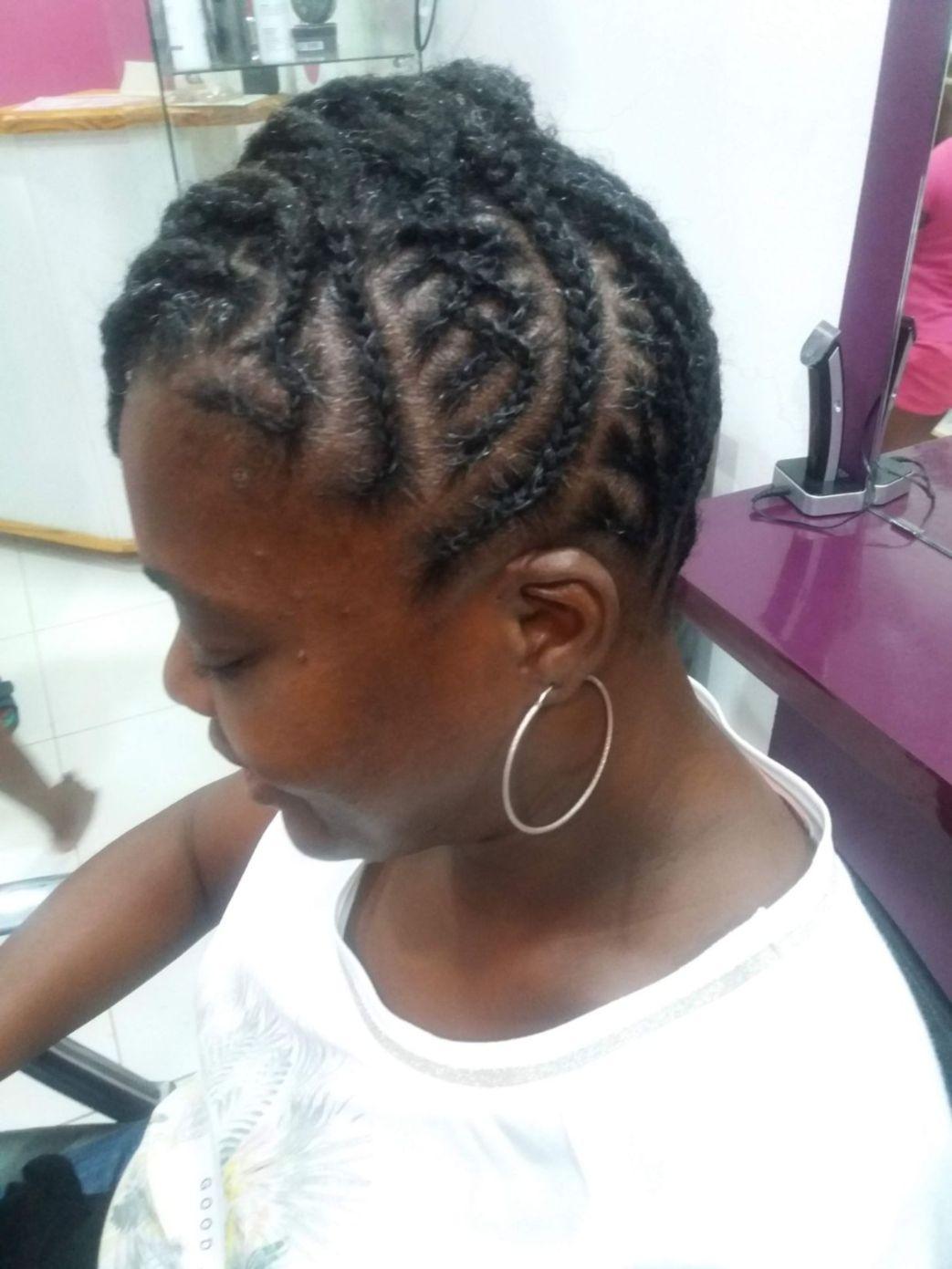Fabie Dom Hair - Coiffure femme tresses sur un côté