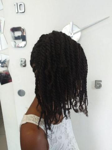 Fabie Dom Hair - Coiffure fille tresses et cheveux tombant sur le côté