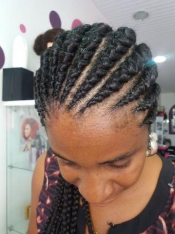 Fabie Dom Hair - Coiffure femme tresses avec rajouts
