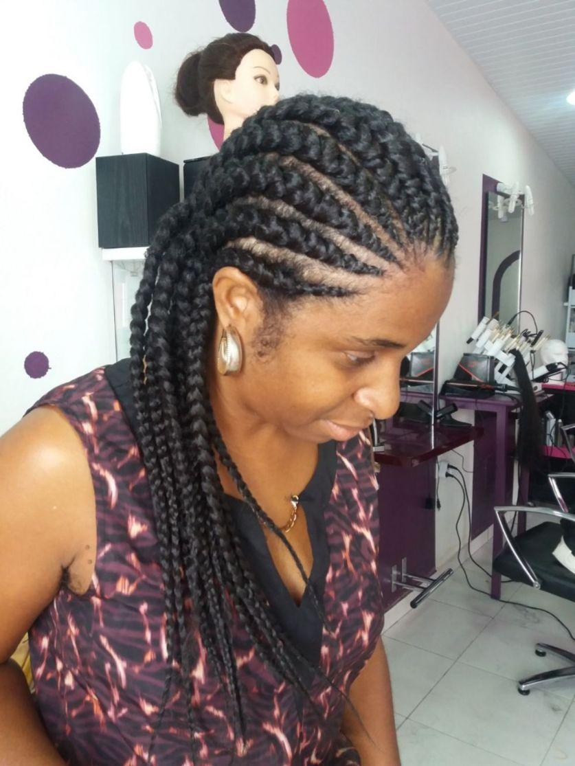 Fabie Dom Hair - Coiffure femme tresses avec rajouts en écailles
